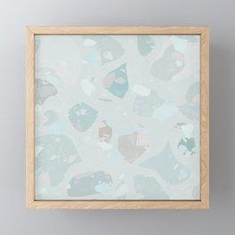 Fresh Terrazzo Framed Mini Art Print