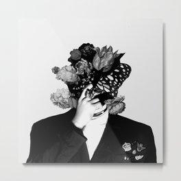 Moon Flowers | Chanyeol Metal Print