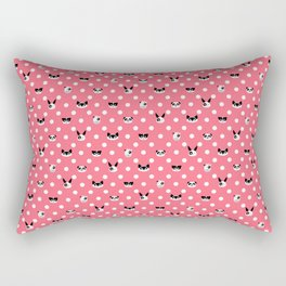 Panda Morphology Rectangular Pillow
