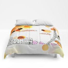 Sketch travel Comforters
