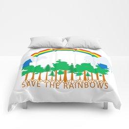 Save the Rainbows Comforters