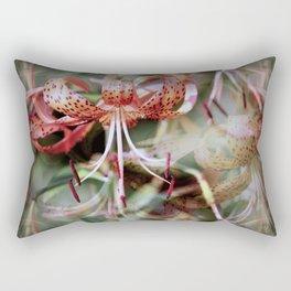 Echoes of Lilies Rectangular Pillow