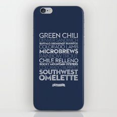 Denver — Delicious City Prints iPhone & iPod Skin
