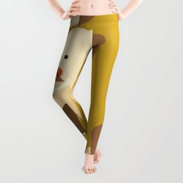 Elephant, Animal Portrait Leggings