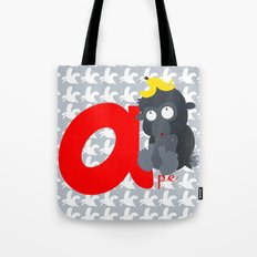 a for ape Tote Bag