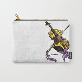 Steampunk Violin Carry-All Pouch