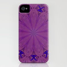 Kaleidoscope purple iPhone (4, 4s) Slim Case