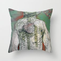 To be silent Throw Pillow