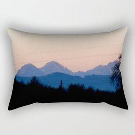 Sunny Alps Down Rectangular Pillow