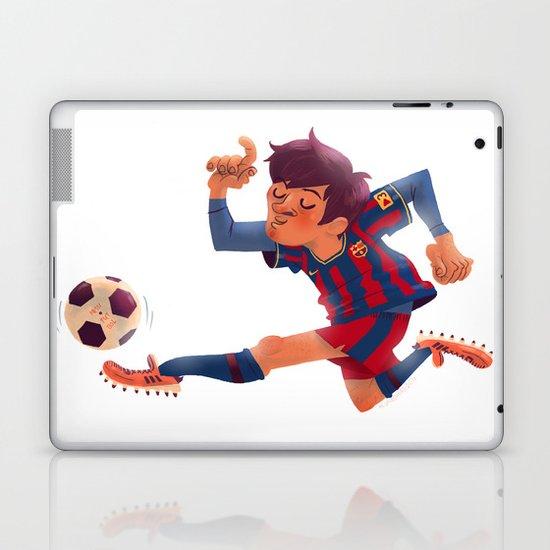 Lionel Messi, Barcelona Jersey Laptop & iPad Skin