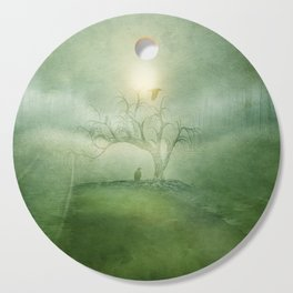 Greenery Sunrise Cutting Board