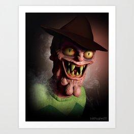 Scary Terry Art Print
