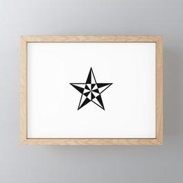 Stars 24 Framed Mini Art Print