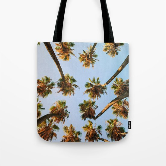 Palm trees overload Tote Bag