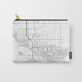 Minimal City Maps - Map Of Palmdale, California, United States Carry-All Pouch
