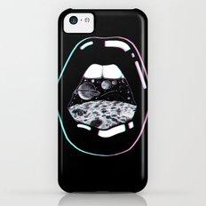 Space Lips Black Slim Case iPhone 5c