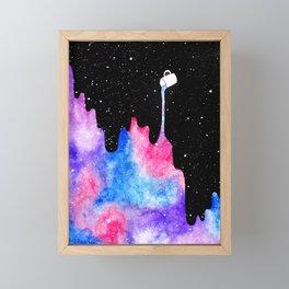 THERE'S COFFEE IN THAT NEBULA II Framed Mini Art Print