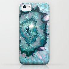 Teal Agate iPhone 5c Slim Case