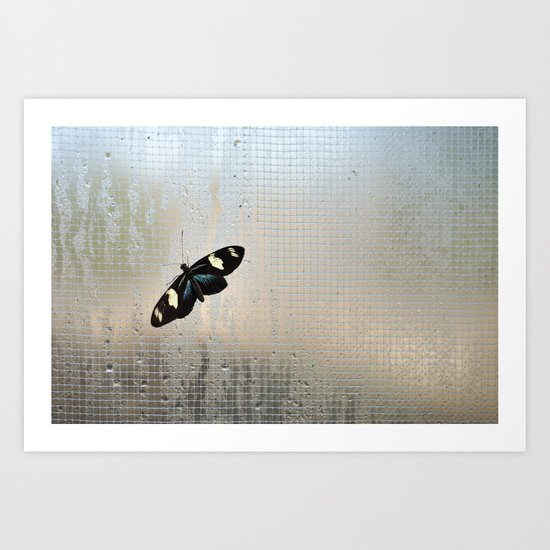 Let me out of here Art Print