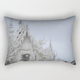 The White Temple - Thailand - 001 Rectangular Pillow