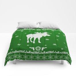 Supernatural Sam Holiday Sweater Comforters