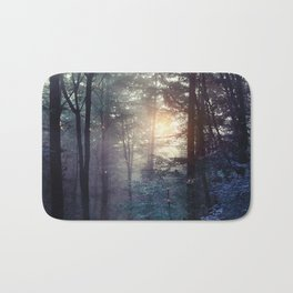 A walk in the forest Bath Mat
