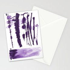 Decorative strokes Stationery Cards
