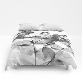 Ghostly Blooms Comforters