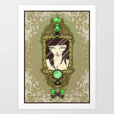Mirror, Mirror Art Print