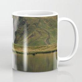 Skógafoss Waterfall - Micah Hamilton Coffee Mug