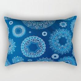 Winter blues Rectangular Pillow
