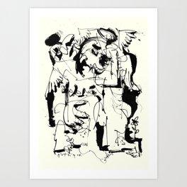 Mourning Angel Art Print
