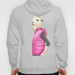 Fashionable Llama Hoody
