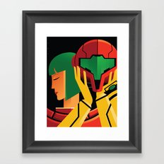 Wait...I've been a girl this whole time!? Framed Art Print