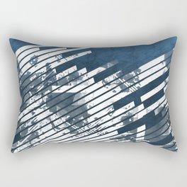 DENIM-WRAPPED NIGHTMARE Rectangular Pillow