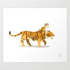 Wild Adventure - Tiger Art Print