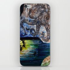 Literary Octopus iPhone & iPod Skin