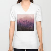 instagram V-neck T-shirts featuring The Heart Of My Heart by Tordis Kayma