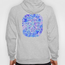 Always Remember – Indigo Palette Hoody