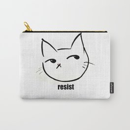 Resist kitty Carry-All Pouch