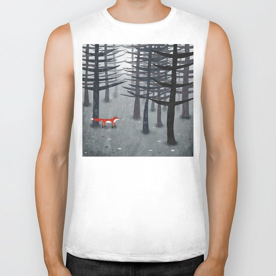 The Fox and the Forest Biker Tank