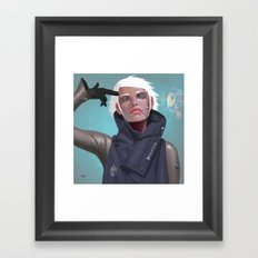 Sf Wyv 51 Framed Art Print