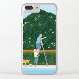 Lovely Afternoon Clear iPhone Case