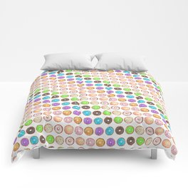 Watercolor Donuts Comforters