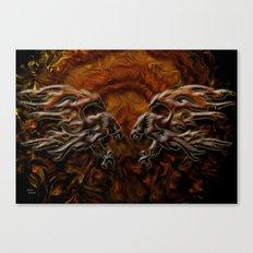 War Eagles Canvas Print