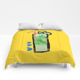 Miami Mojito Comforters