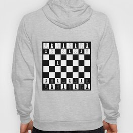 First Move At Chess Hoody