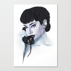 Audrey Is Calling Canvas Print