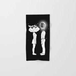 Day Dreamer Meets Night Thinker Hand & Bath Towel