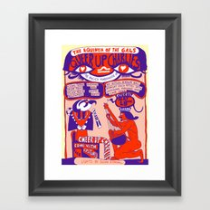 Queer Up Charlies Framed Art Print